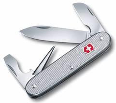 Нож перочинный Victorinox Alox 0.6221.26 58 мм 5 функций алюминиевая рукоять серебристый