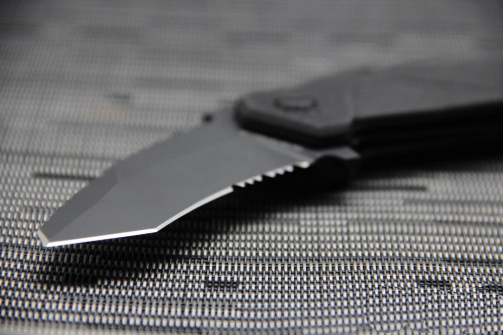 Фото 8 - Складной нож Extrema Ratio Nightmare Black, сталь Bhler N690, рукоять черный антикородал (алюминиевый сплав)