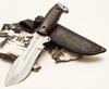 Нож для выживания «Кобра», из нержавеющей стали 65х13 - Nozhikov.ru