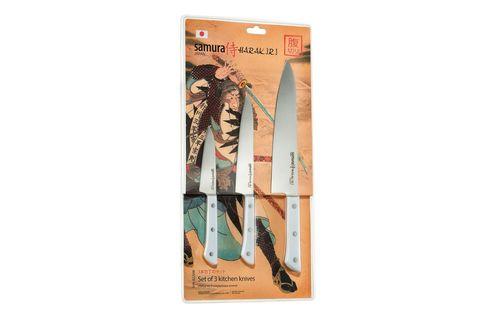 Набор из 3 кухонных ножей Samura Harakiri -