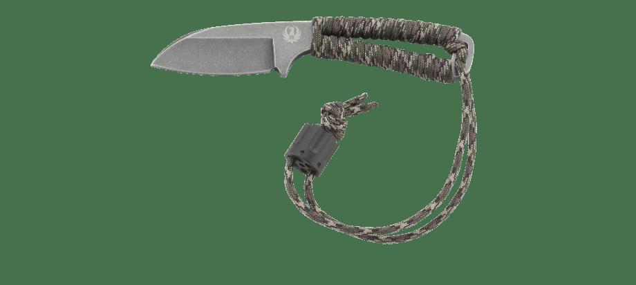 Фото 7 - Нож с фиксированным клинком CRKT Cordite™ Compact, сталь 8Cr14MoV, рукоять паракорд