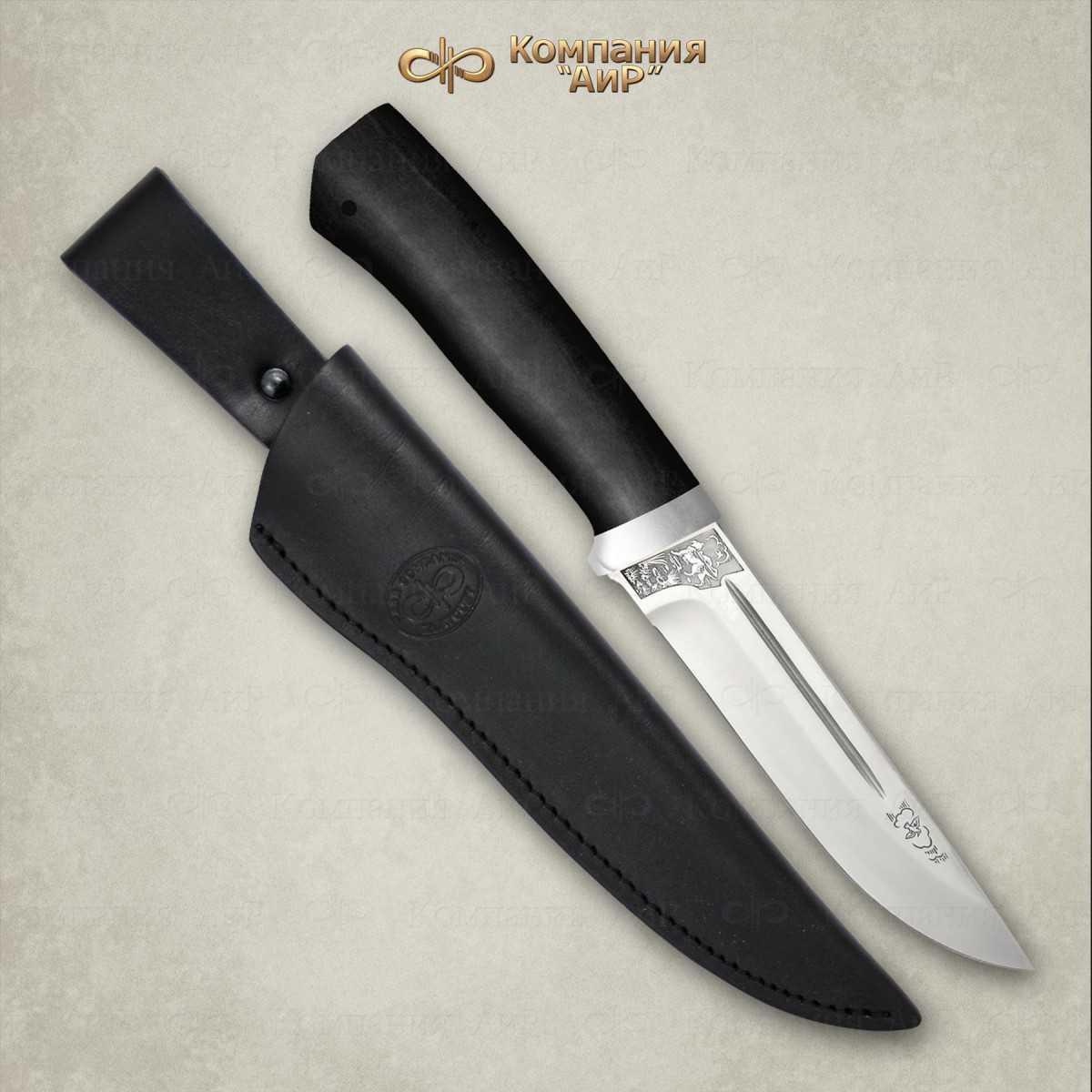 Нож Бекас, сталь Elmax, граб, АиР фото