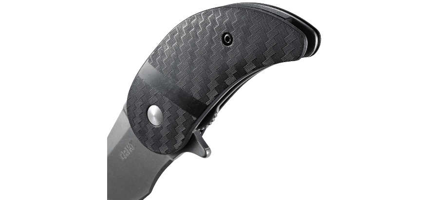 Фото 8 - Складной нож CRKT Snicker™, сталь 420J2, рукоять термопластик GRN