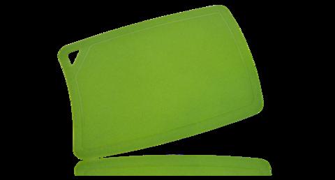 Доска разделочная BIOMAID, термопластичный полиуретан, зеленый, 240x170x2мм - Nozhikov.ru