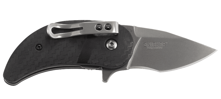 Фото 14 - Складной нож CRKT Snicker™, сталь 420J2, рукоять термопластик GRN