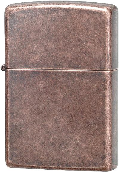 Зажигалка ZIPPO Classic с покрытием Antique Copper™, латунь/сталь, медная, матовая, 36x12x56 мм