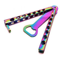 Открывалка Magnum 09SC010 Rainbow Balisong, Boker