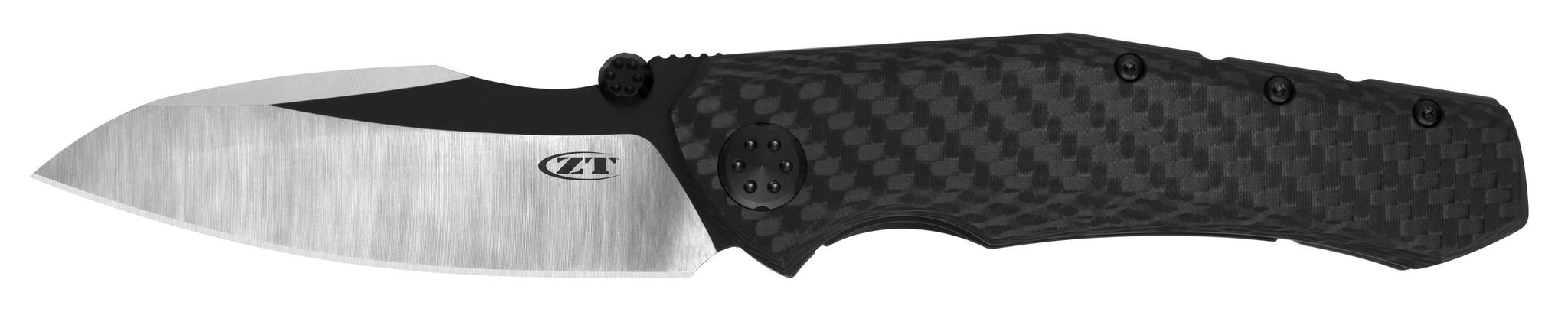 Фото - Складной нож Zero Tolerance K0850CF Rexford, сталь CPM 20CV, сатин/DLC