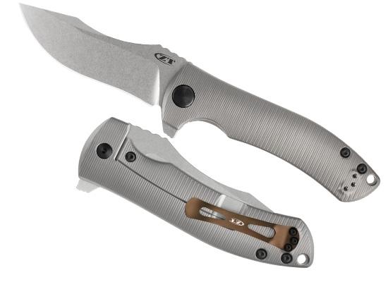 Фото 6 - Нож складной Les ZT 0920, сталь CPM® 20CV, рукоять титан от Zero Tolerance