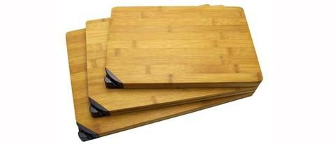 Малая разделочная доска из бамбука, с точилкой - Nozhikov.ru