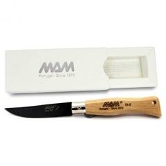 Нож MAM Douro 5004 ручка бук, цвет клинка черный