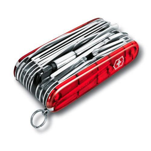 Фото 2 - Нож перочинный Victorinox SwissChamp 1.6795.XLT 91мм 50 функций красный