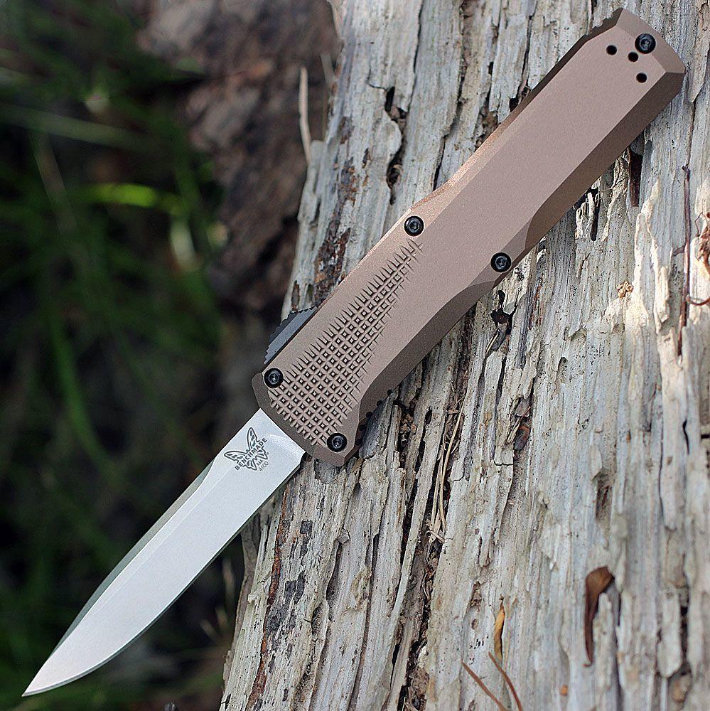 Фото 2 - Автоматический выкидной нож Benchmade 4600-1 Phaeton, сталь CPM-S30V, рукоять анодированный алюминий