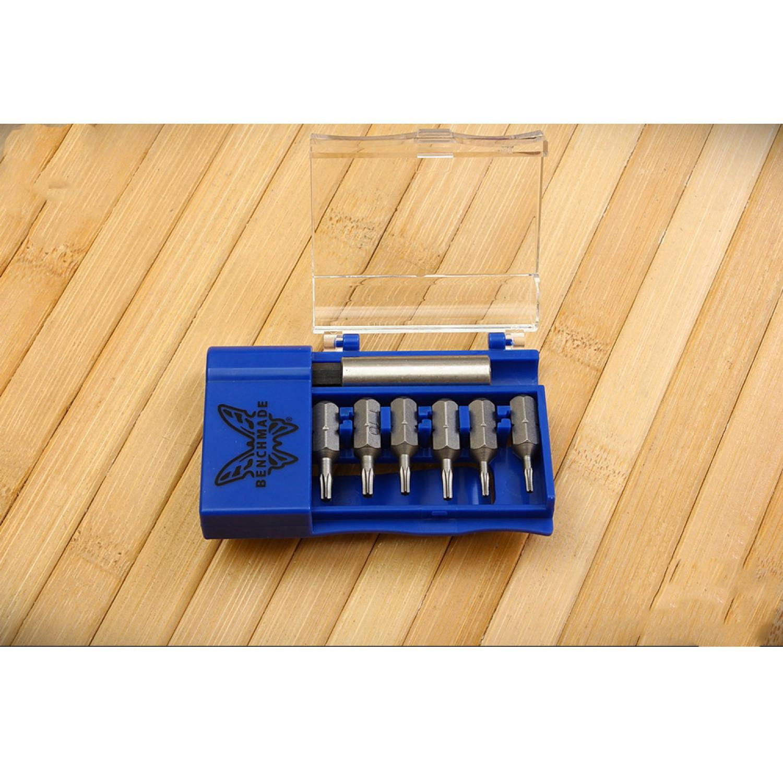 Фото 5 - Набор отверток для ножей Benchmade BlueBox Tool Kit 981084F