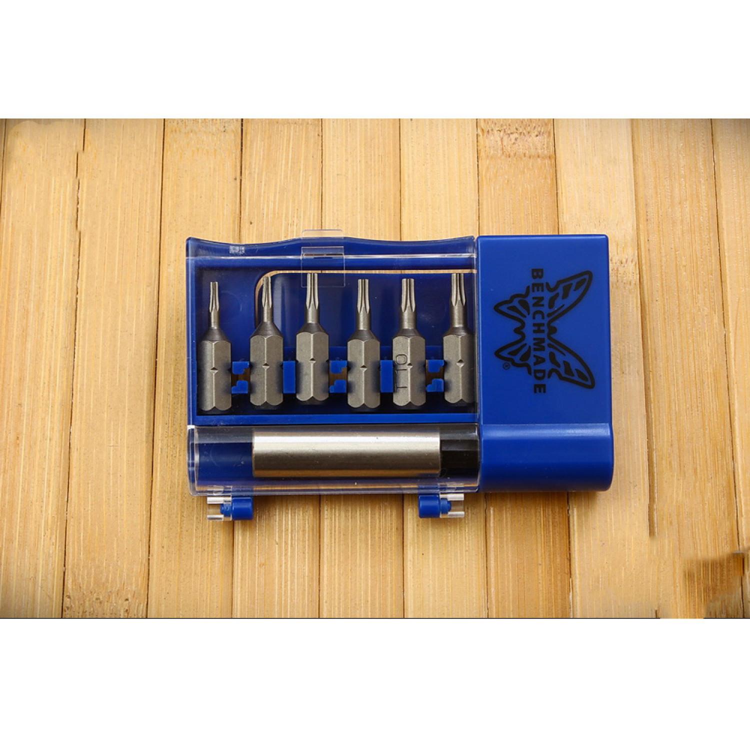 Фото 6 - Набор отверток для ножей Benchmade BlueBox Tool Kit 981084F