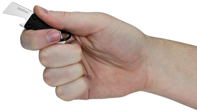 Фото 4 - Брелок мультитул Kershaw Pry Tool-1 K8800X, сталь 8Cr13MoV, рукоять термопластик GRN