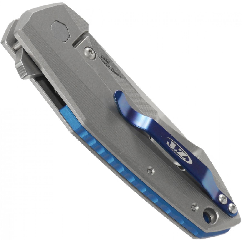 Фото 9 - Нож складной Zero Tolerance 0456, сталь CPM-20CV, рукоять титан