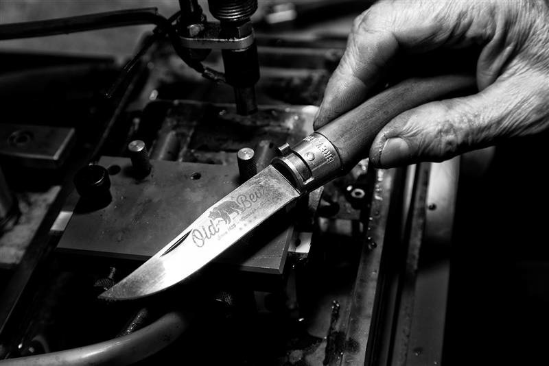 Фото 7 - Складной нож Antonini Old Bear® Walnut L, сталь Hardened Aisi 420, рукоять орех
