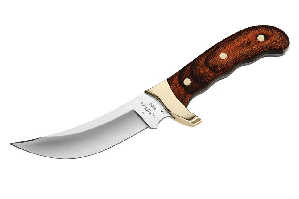 Фото 5 - Нож туристический 401 Kalinga - BUCK 0401RWS, сталь 420HC, рукоять древесный пластик (дерево палисандр)