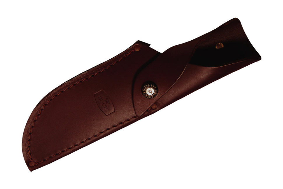 Фото 7 - Нож туристический 401 Kalinga - BUCK 0401RWS, сталь 420HC, рукоять древесный пластик (дерево палисандр)