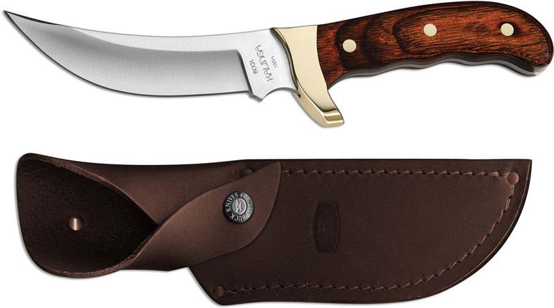Фото 11 - Нож туристический 401 Kalinga - BUCK 0401RWS, сталь 420HC, рукоять древесный пластик (дерево палисандр)