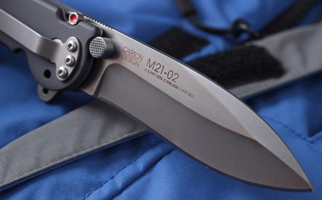 Фото 7 - Складной нож CRKT M21™-02, сталь AUS-8, рукоять алюминиевый сплав