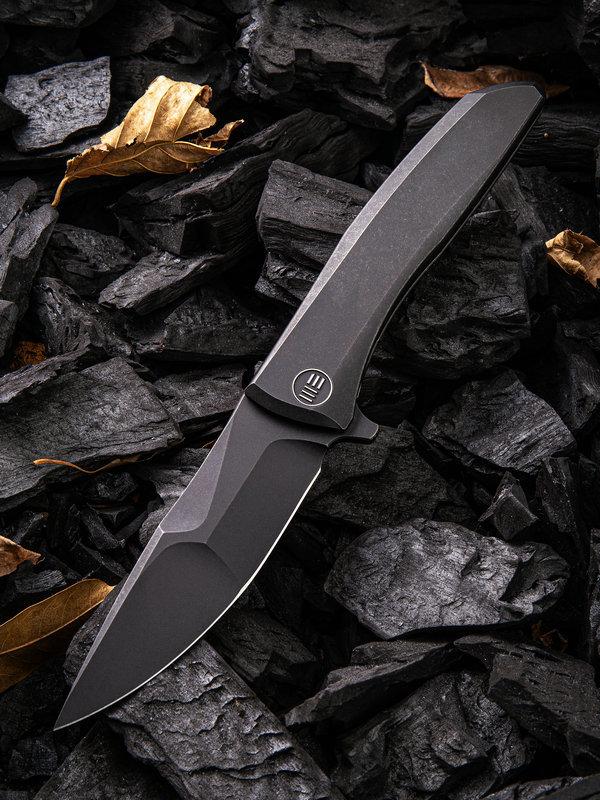 Складной нож WE Knife Scoppio Black, CPM 20CV