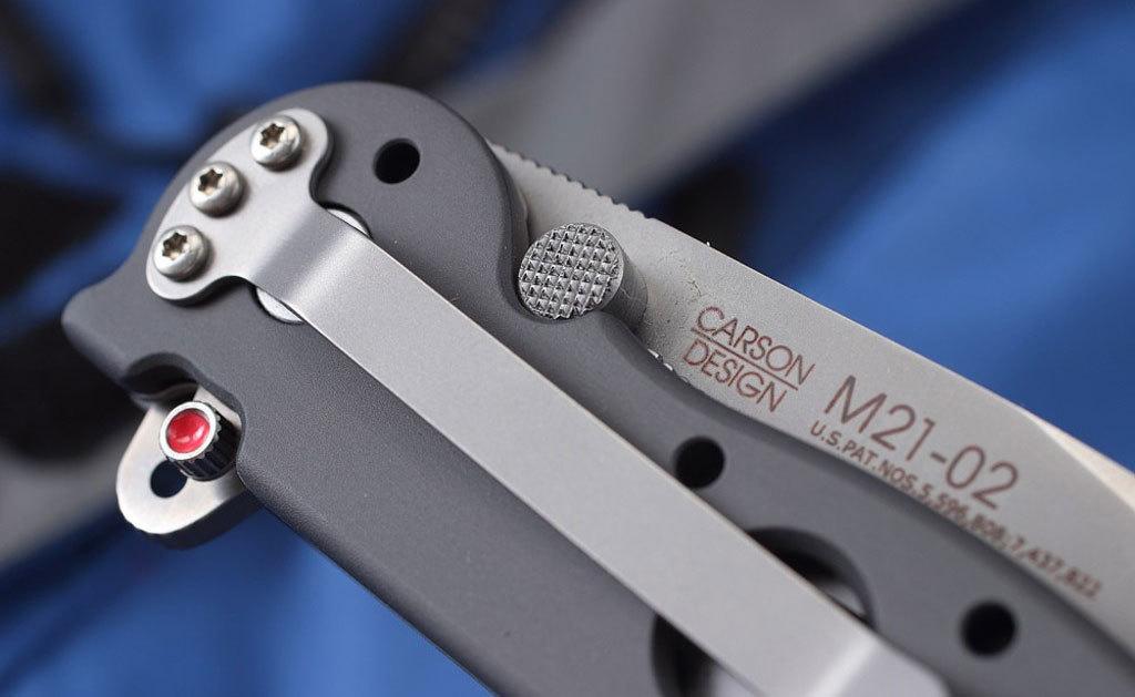 Фото 8 - Складной нож CRKT M21™-02, сталь AUS-8, рукоять алюминиевый сплав