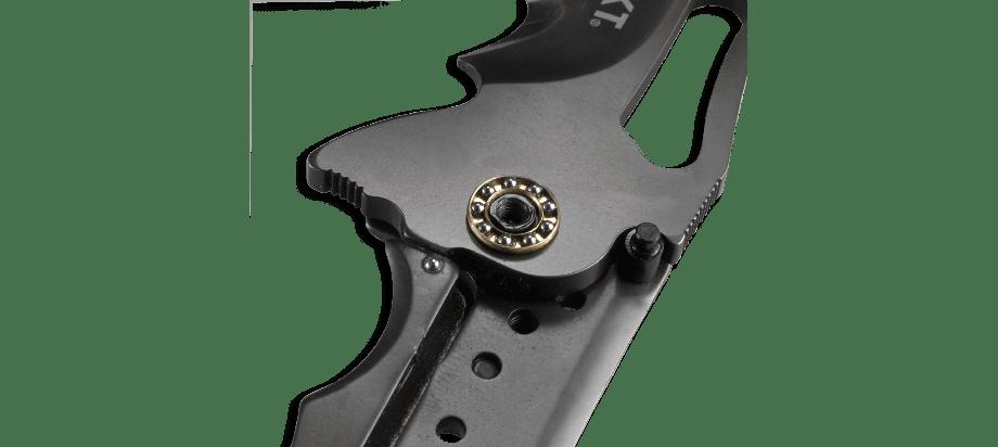 Фото 9 - Складной нож CRKT FOSSIL™ WITH VEFF SERRATIONS™, сталь 8Cr13MoV, рукоять нержавеющая сталь, накладки G10