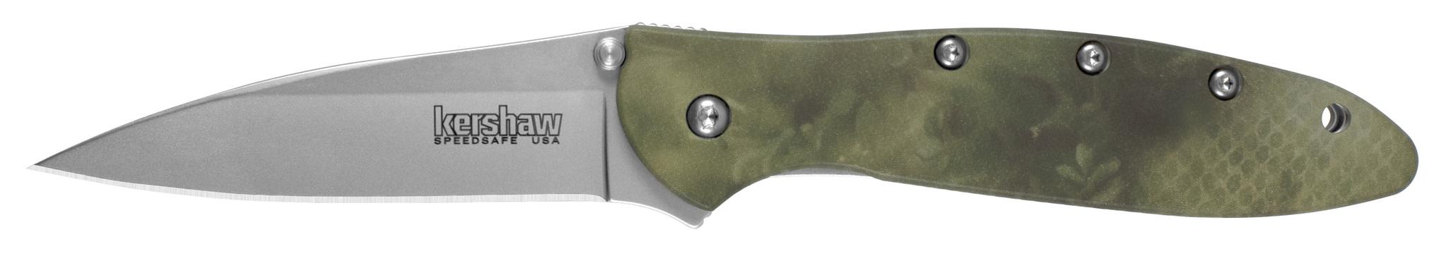 Фото 2 - Складной нож Kershaw Leek Camo K1660, сталь Sandvik™ 14C28N