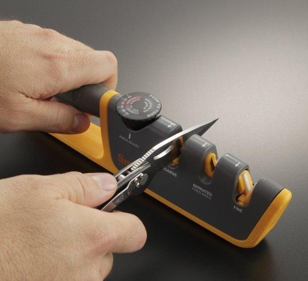 Точилка механическая, с регулируемым углом заточки механическая точилка для заточки ножей cc476