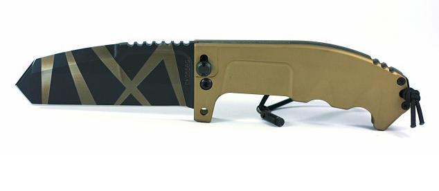 Складной нож Extrema Ratio RAO Desert Warfare, сталь Bhler N690, рукоять алюминий