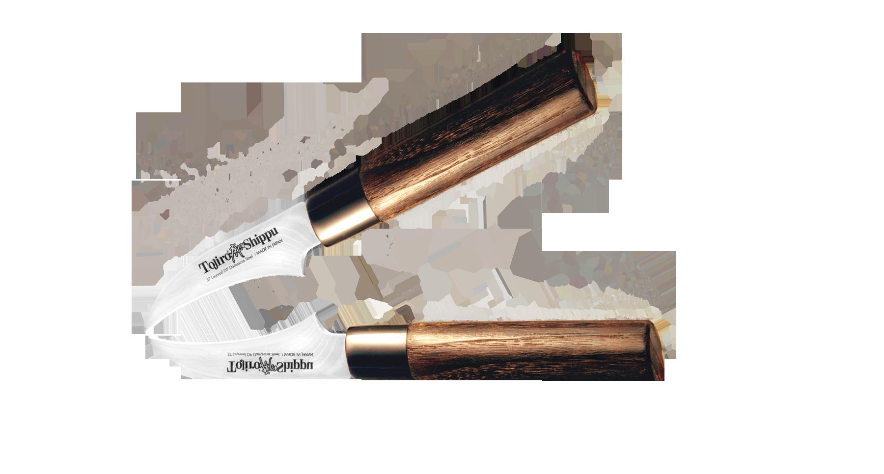 Нож для чистки овощей Shippu 70 мм, сталь VG-10, Tojiro нож для чистки овощей tojiro flash 70 мм сталь vg 10