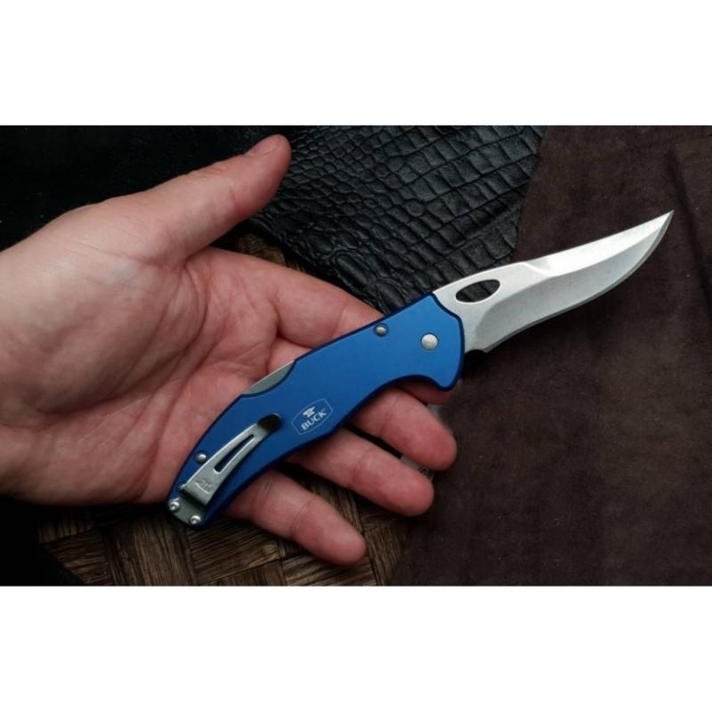 Фото 2 - Складной нож Buck Ascend LT 0715BLS2, сталь 420HC, рукоять алюминий