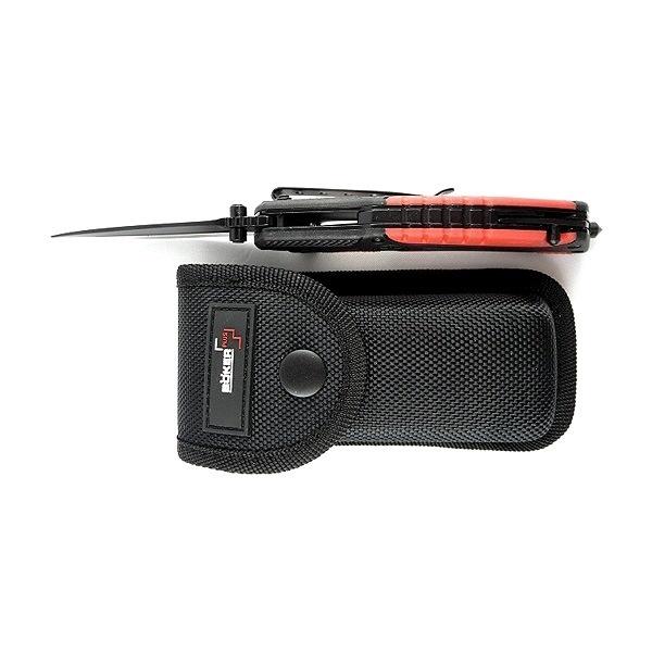 Фото 13 - Нож складной Savior 1 - Boker Plus 01BO320, сталь Sandvik™ 12С27 EDP, рукоять термопластик FRP, чёрно-красный