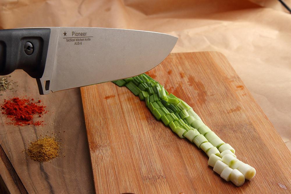 Фото 6 - Кухонный тактический мужской нож Pioneer от Noname