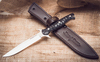 Нож Финка Б13 из D2, стилизация под камень - Nozhikov.ru