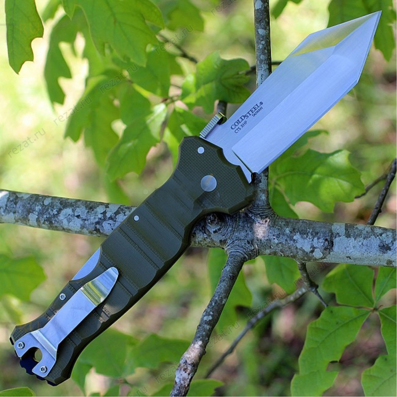 Фото 6 - Складной нож Cold Steel Immortal OD Green 23GVG, сталь CTS XHP, рукоять G-10