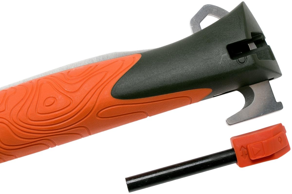 Фото 7 - Складной нож Opinel №12 Explore, нержавеющая сталь Sandvick 12C27, рукоять термопластик, оранжевый