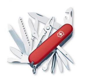 Нож перочинный Victorinox Craftsman 1.4773 91мм 24 функции красный craftsman 33399