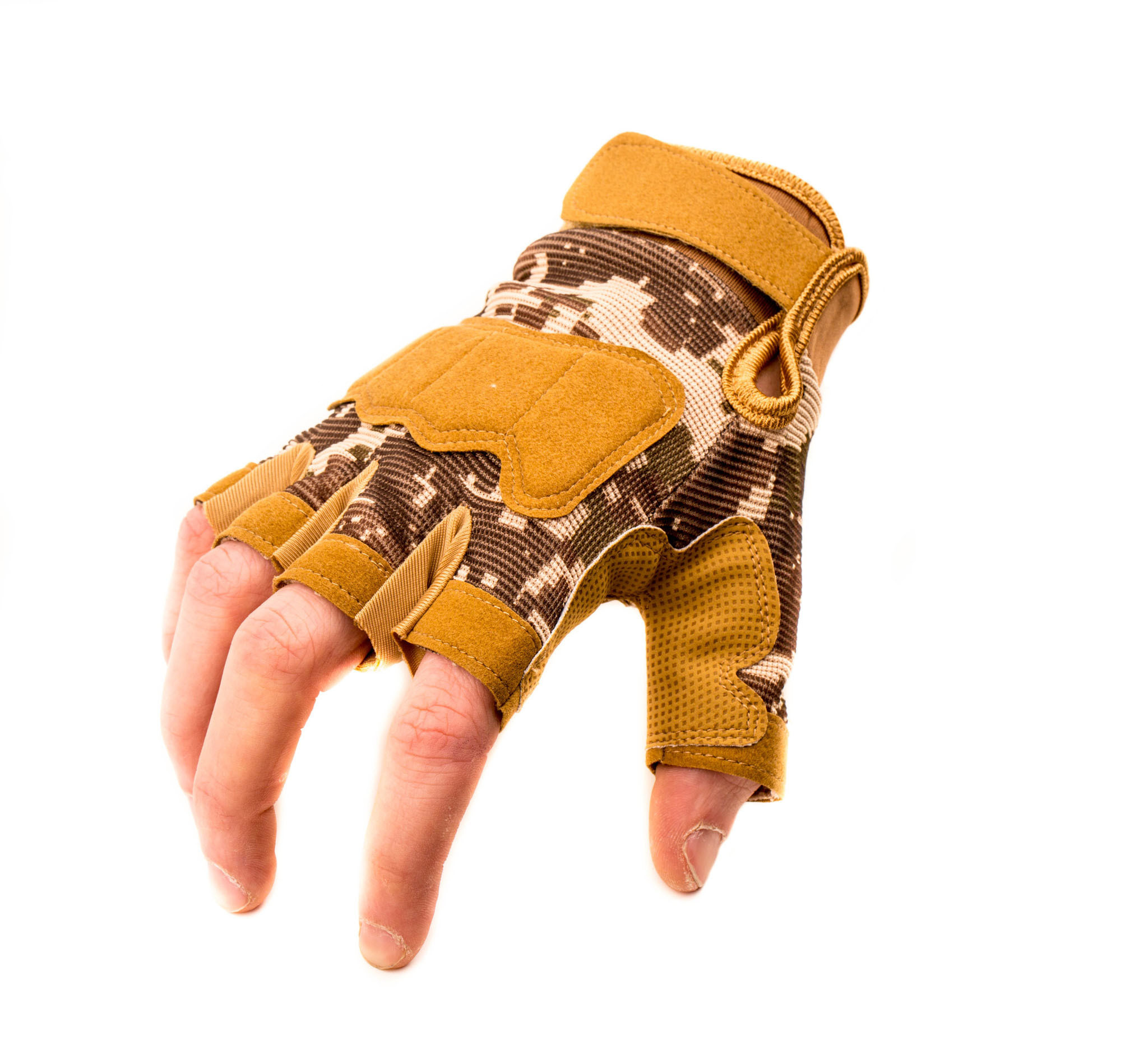 Тактические перчатки без пальцев Safari, размер L от China Factory