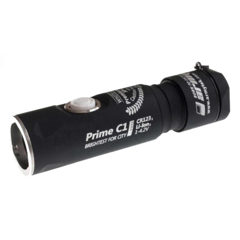 Фонарь светодиодный Armytek Prime C1 Pro v3, 744 лм, теплый свет ручной фонарь armytek prime c1 pro v3 xp l белый свет черный