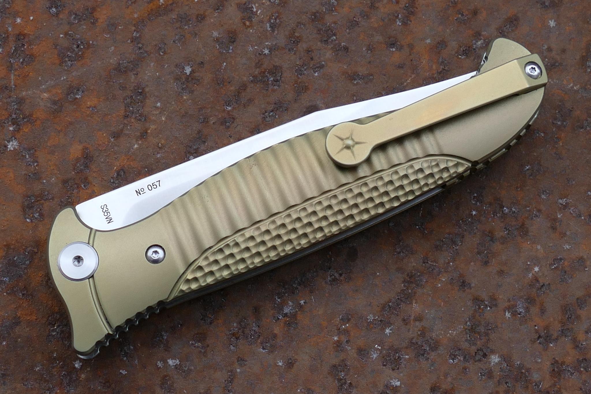 Фото 18 - Складной нож Финка-2, S35VN от Reptilian