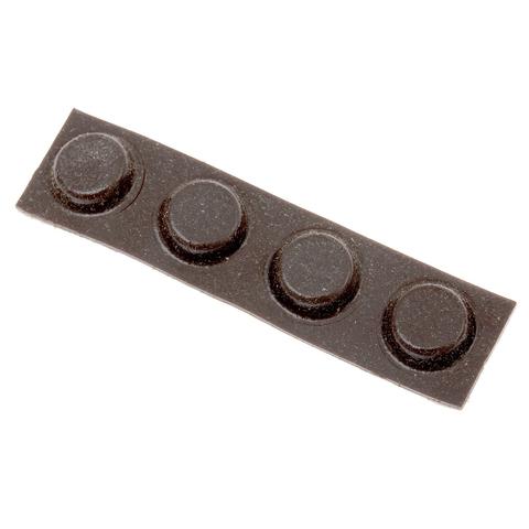 Брусок алмазный для заточки DMT Coarse, 325 меш, 45 мкм, резиновые ножки. Вид 2