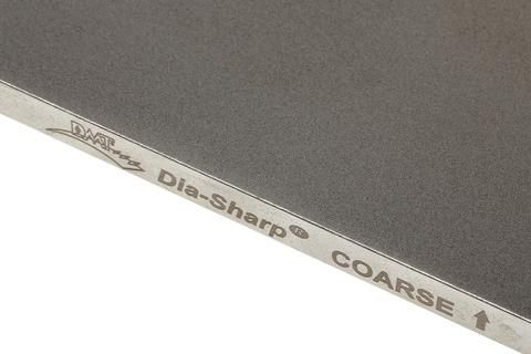 Брусок алмазный для заточки DMT Coarse, 325 меш, 45 мкм, резиновые ножки. Вид 4