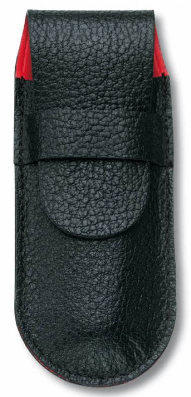 цена на Чехол Victorinox 4.0738 кожаный для ножей 91мм толщиной 4 уровня черный