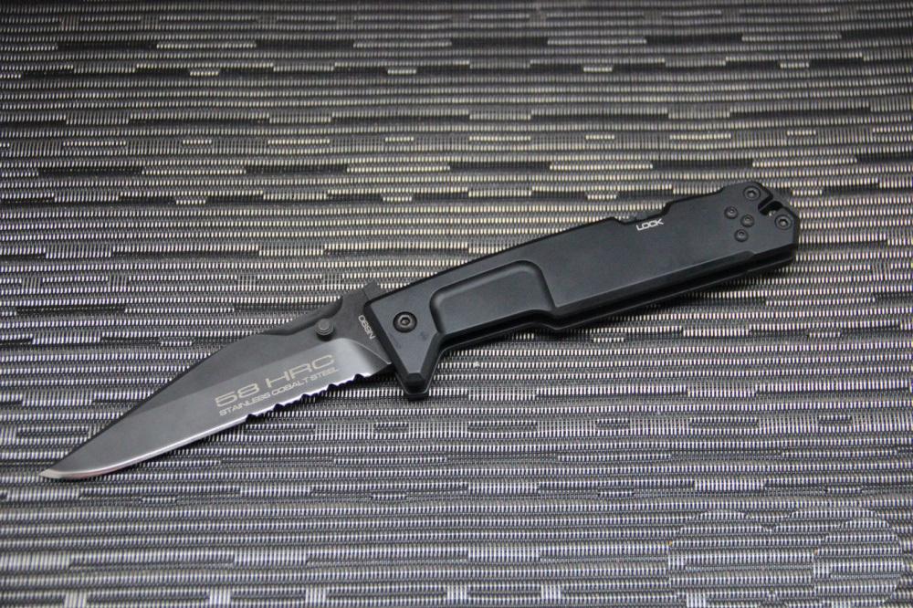 Фото 8 - Складной нож Extrema Ratio M.P.C. (Multi Purpose Compact) Black, сталь Bhler N690, рукоять черный антикородал (алюминиевый сплав)
