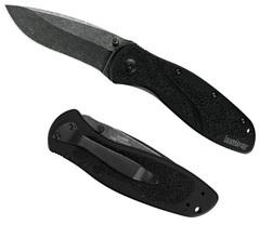 Нож складной KERSHAW Blur с покрытием BlackWash