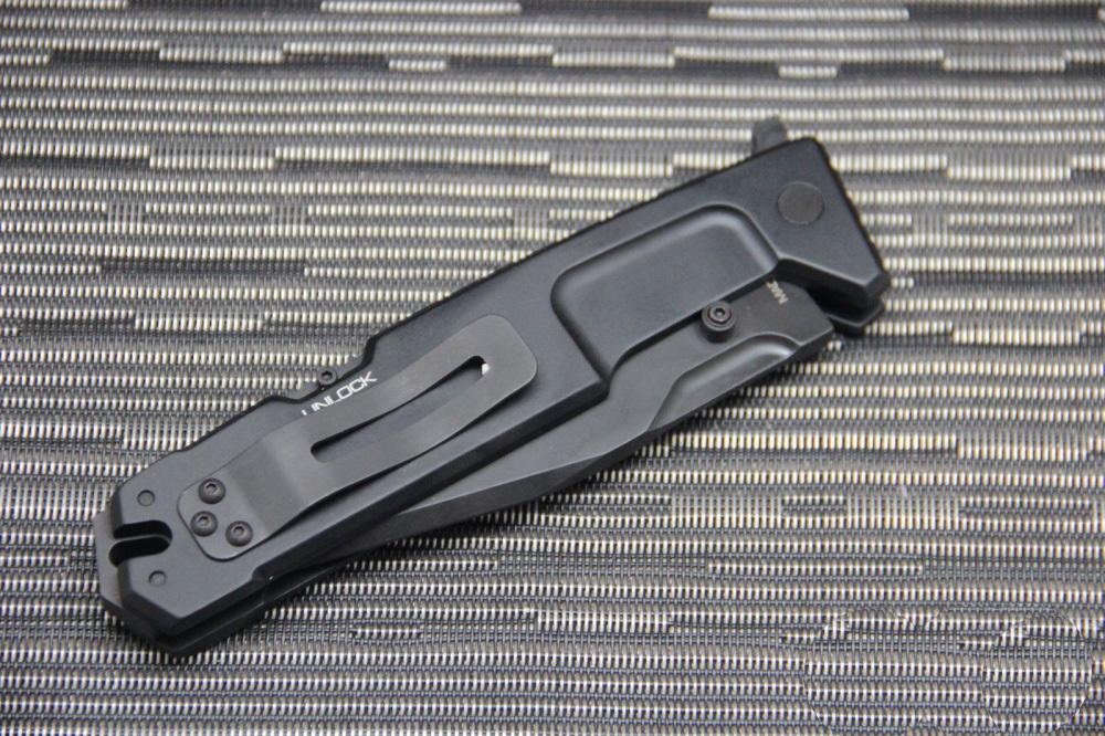 Фото 10 - Складной нож Extrema Ratio M.P.C. (Multi Purpose Compact) Black, сталь Bhler N690, рукоять черный антикородал (алюминиевый сплав)
