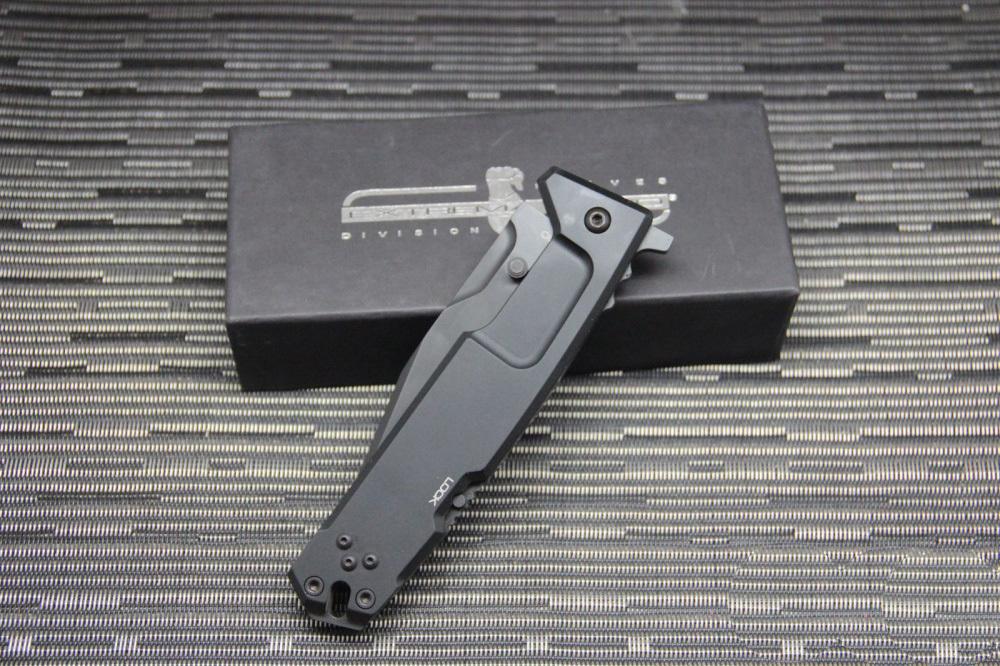 Фото 13 - Складной нож Extrema Ratio M.P.C. (Multi Purpose Compact) Black, сталь Bhler N690, рукоять черный антикородал (алюминиевый сплав)
